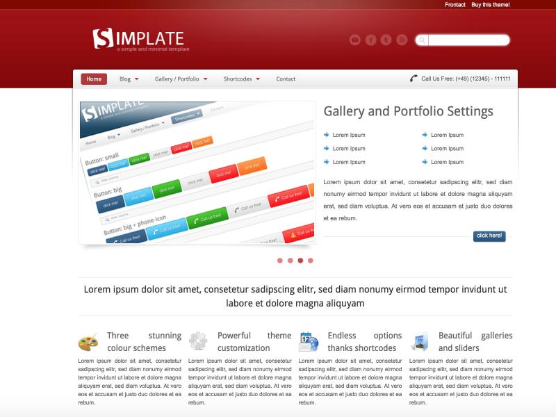 Webdesign Simplate