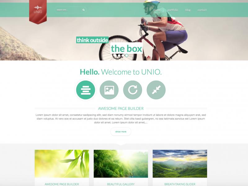 Webdesign Unio